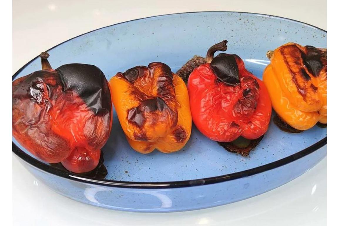 Болгарский перец на тандыре