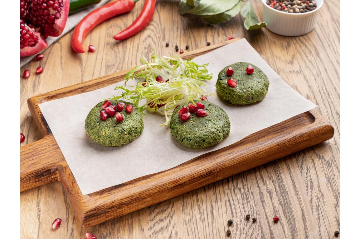 Пхали из стручковой зеленой фасоли с орехами
